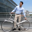 Amazing Bike Folds to the Size of an Umbrella