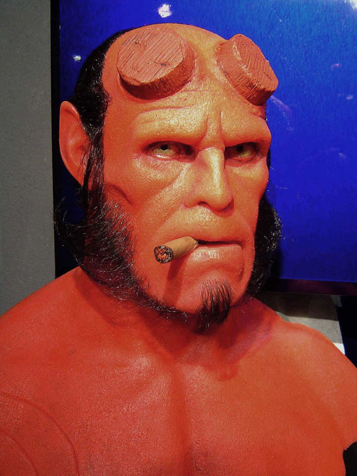 hellbo Wax Sculptures By Bobb Causey