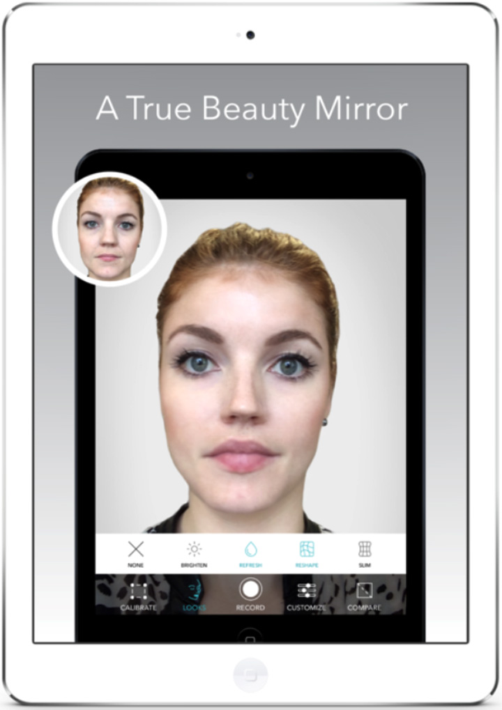 Beauty Mirror Photoshop Your Face In Real-time
