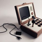R-Kaid-R: Wooden Arcade Box By Love Hultén