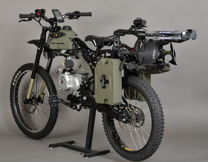 Motoped Survival Bike 3
