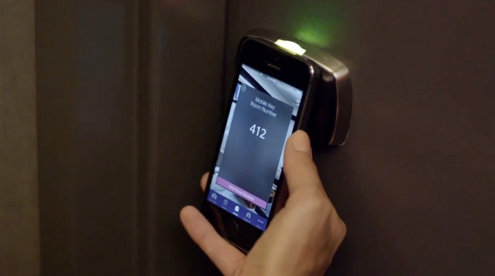 SPG Smartphone Hotel Room Access