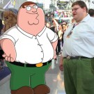 Real Life Peter Griffin At New York Comic Con