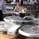 Drone Waiters in Singapore