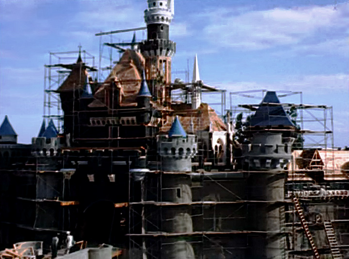 Disneyland Construction