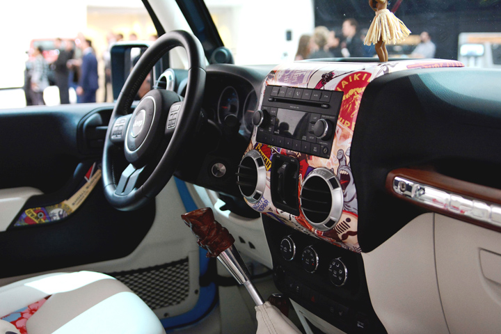 Jeep Chief Concept Interior