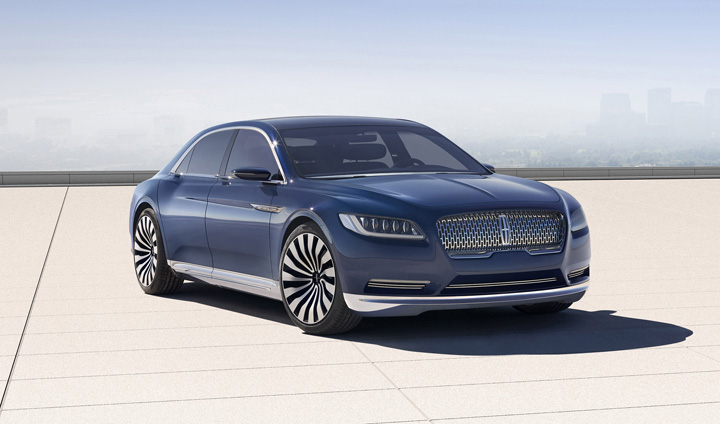 Lincoln Continental Concept Front