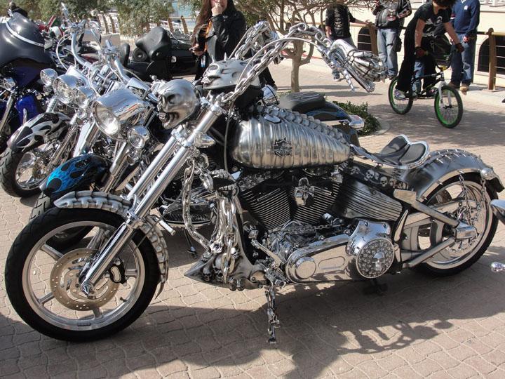 Sliver Harley Davidson