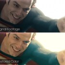 Man of Steel Restored in Color
