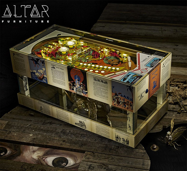 Pinball Machine Coffee Table Furniture 4