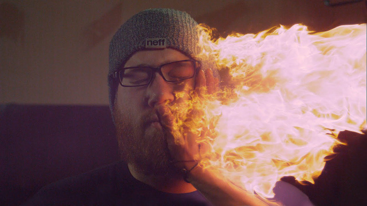 Slow Motion Fire Slap