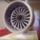 3D Printed B787 Jet Engine