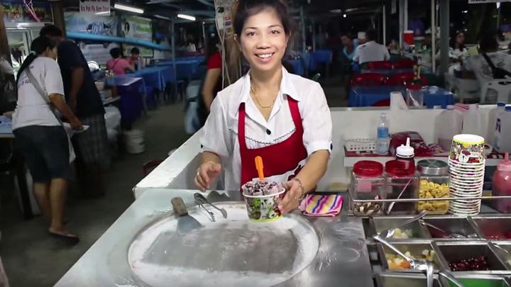 Instant Ice Cream Rolls
