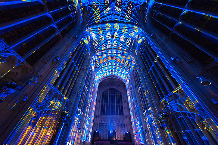 King's College Chapel Projection Mapping
