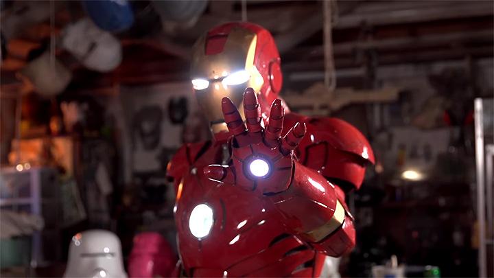 Life Size Iron Man Costume
