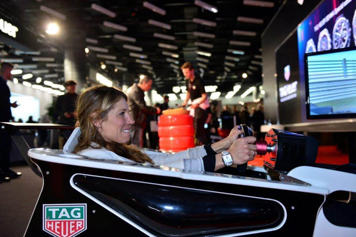 Red Bull And TAG Heuer Car Simulator