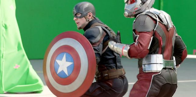 Behind the Scenes of Captain America 2016