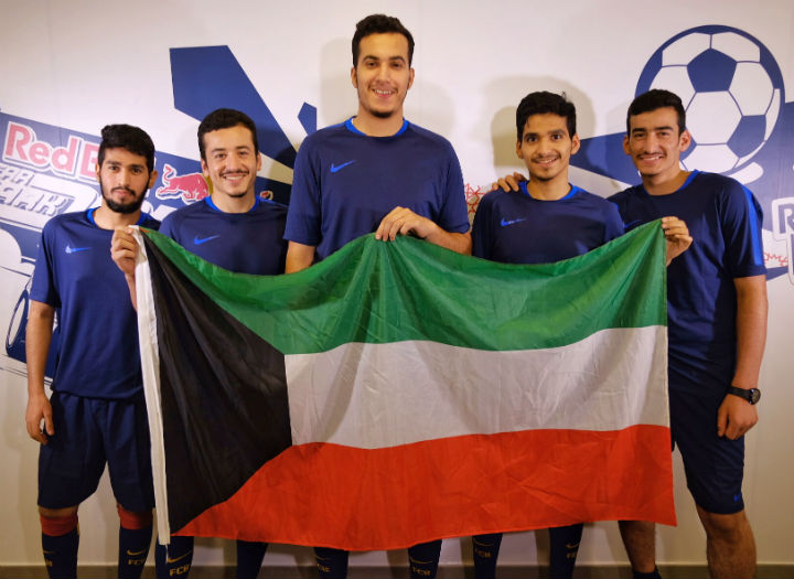 Kuwait Team at Neymar Jr's Five Final in Brazil
