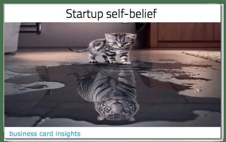 Startup self belief