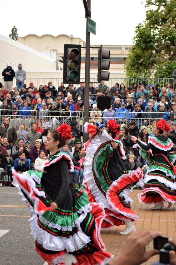 De jolies danseuses de flamenco
