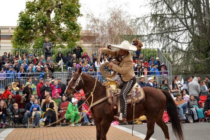 Un cowboy et son lasso