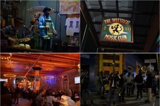 Dès le crépuscule, les bars de Frenchmen Street s'animent