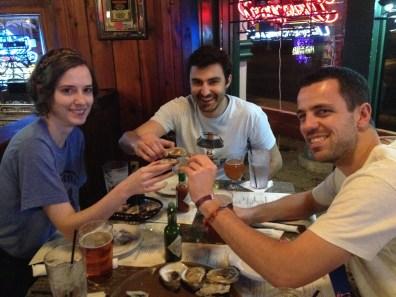 Gobage d'huîtres au Chimes