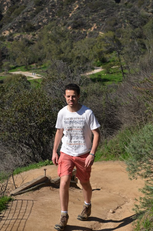 The hiking guy