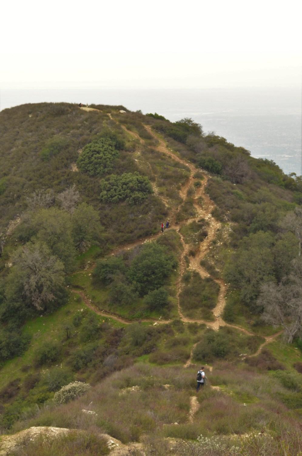 Jones Peak vu de plus haut