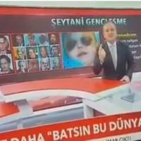 Q INFOS - Les satanistes en boucle sur les TV Turques, Pas bon pour eux!!!