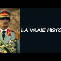 """Q VIDEOS - M.Kadhafi: """"Voila la vraie histoire qu'on vous cache""""."""