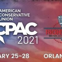 Q SCOOP - CPAC 2021: Le président D. Trump en direct lors d'Orlando, Floride.
