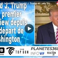 Q SCOOP - D. Trump, interview Censurée partout, mais ici sous-titrée en français.