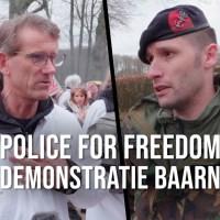 """Q INFOS - Pays-Bas : Un défilé avec une démonstration de """"Police For Freedom""""."""