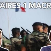 """Q VIDÉOS - FP : """"Débandade de Macron face aux militaires : l'incroyable renversement !"""""""