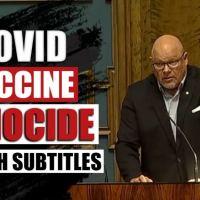 Q SCOOP - Un député finlandais avertit le gouvernement qu'il est coupable de génocide pour avoir induit le public en erreur sur les injections COVID-19.