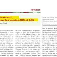 Un document intéressant sur les Nanotaxi® pour les vaccins ARN et ADN.