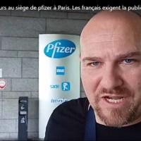 Opération au siège de Pfizer à Paris ! Les Français exigent la publication des clauses confidentielles avec l'État français.