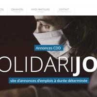 Connaissez-vous Solidarijob ? Un site d'annonces d'emplois à durée déterminée, le site d'entraide pour toute personne suspendue desalaire.