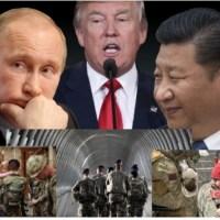 """""""Une alliance militaire américaine et aussi mondiale avec Poutine et le président Chinois?"""" : Pour nous permettre de mieux comprendre.... par Claude LMP."""