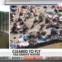 J. Biden est une catastrophe ! Des sources policières affirment qu'il y a jusqu'à 10 000 migrants supplémentaires en route pour entrer illégalement à Del Rio Texas.