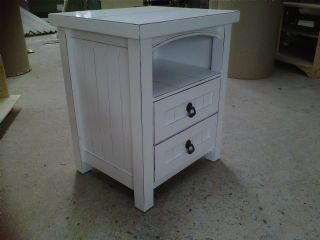 Country Pedestal with Draws