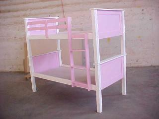 Vin Panel Double Bunk Bed