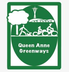 Queen Anne Greenways logo