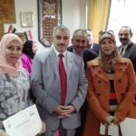 شاهين يكرم قسم العلاقات العامة بإدارة القناطر الخيرية