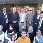 طه عجلان يفتتح أول منفذ بيع نموذجي لمنتجات المدارس الزراعية بالقليوبية