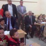 محافظ القليوبية ووكيل وزارة التعليم يفتتحان ثلاث مدارس جديدة بإدارة بنها