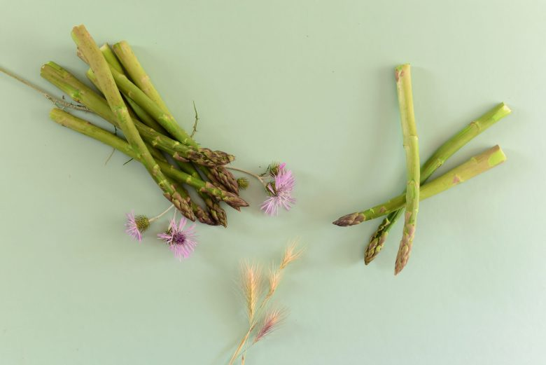 asperges, stylisme culinaire, photographie culinaire