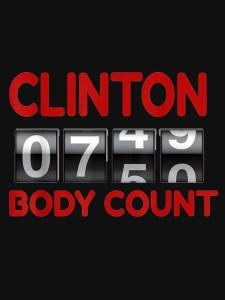 Clinton Body Bag Count QAnon.fun