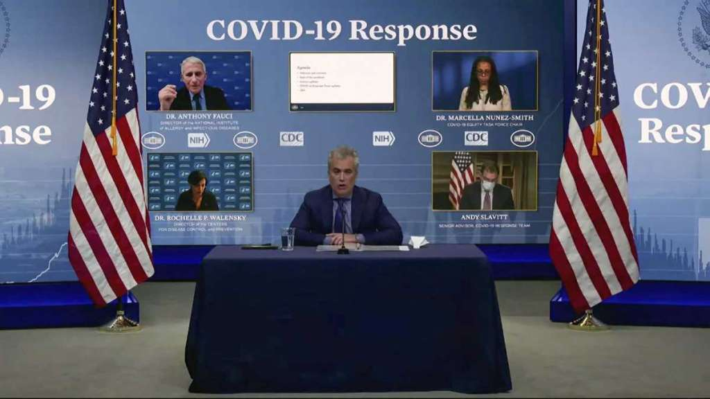 No Comments Allowed on Biden Whitehouse Covid19 Response Team Video